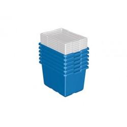Tároló dobozok (6 db) MEGSZŰNT TERMÉK
