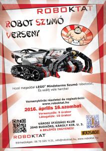 Robot Szumó Budaörs 2016 április 16