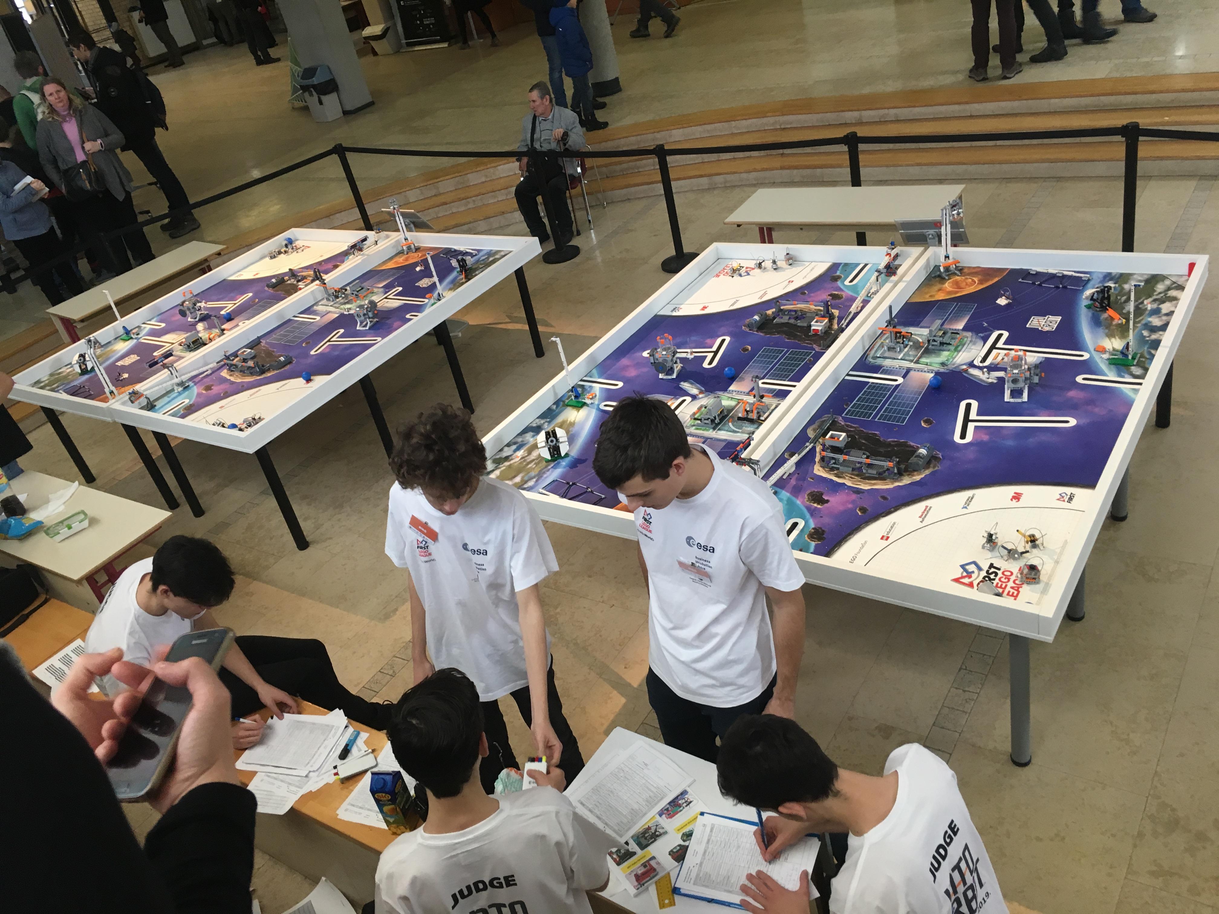 FLL Budapest - Regionális döntő