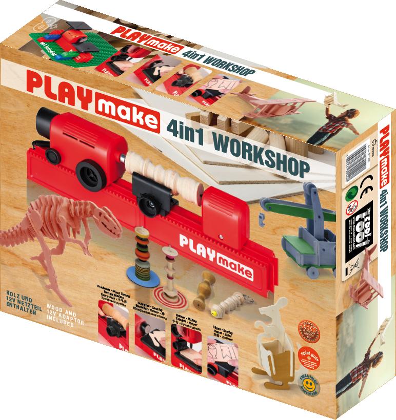 PLAYmake - Asztalos csomag